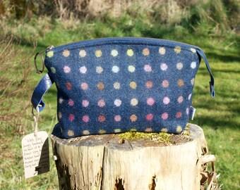 Tweed Wash Bag