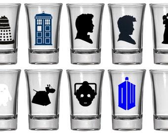 1.5oz Shot Glass | Doctor Who