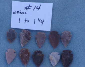 Arrow heads , stone arrow heads , earthy decorations , craft supplies , natural craft supply