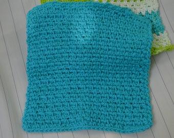 Cotton crocheted wash cloths