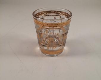 Vintage shot glasses....souvenir 1970's..Statue of Liberty...tourism shot glass...New York