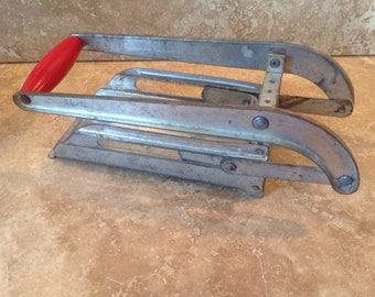 Vintage french fry cutter