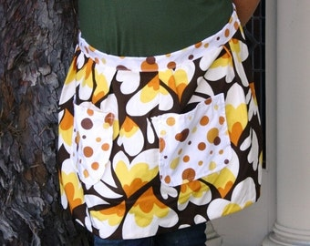 How Does Your Petal Fall Apron - Clearance Sale