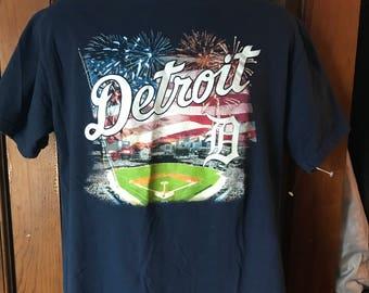 Men's Detroit Tiger Graphic T-Shirt