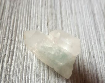 Fuchsite Included Quartz Point FREE SHIPPING