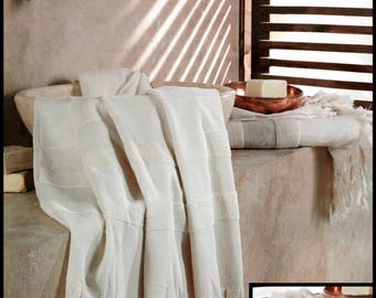Peshtemal Towel - Super Absorbent Turkish Towel - Super Soft Lightweight and Thin - Dry quickly