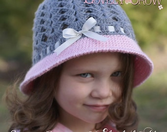 Cloche Crochet Pattern for My ANGEL BABY Cloche digital