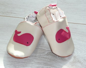 Soft booties / slippers / mocs