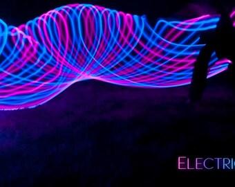 Midnight Rose - LED Hula Hoop
