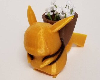 Pokemon Succulent Bulbasaur Pikachu eevee Planter Nintendo Pokemon Cards Indoor Planter Mini Planter vase pot magnetic planter house decor