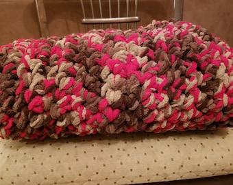 Bulky Crochet Throw