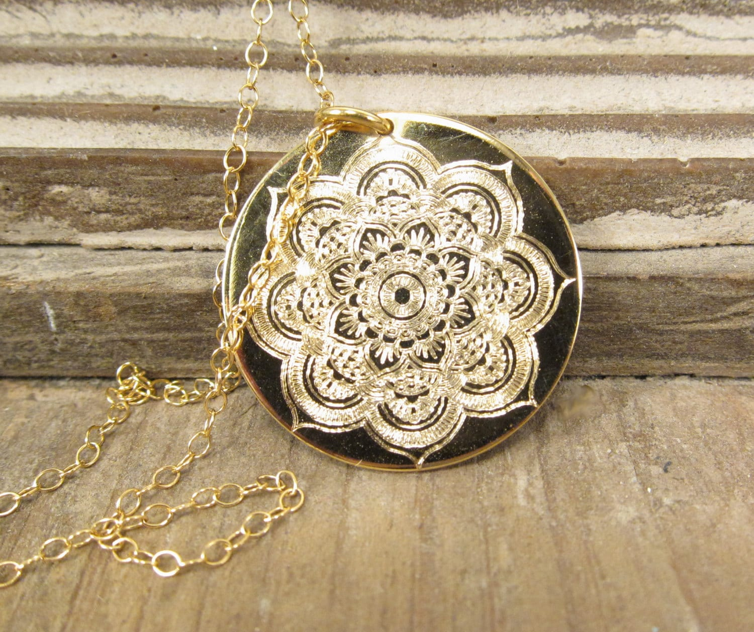 mandala modli sample life x necklace sterling silver circle of pic