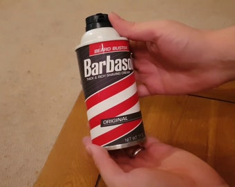 Barbasol replacement label, digital download only.