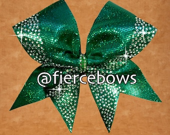 Little Bit of Luck Rhinestone Bow