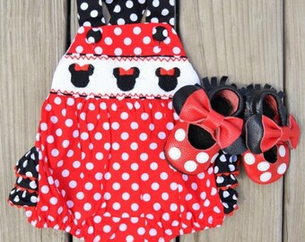 Minnie Mouse Romper
