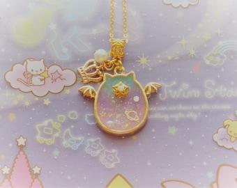 Fairy Kei One Eyed Demon Necklace