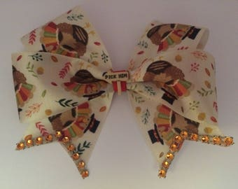 Pick Him Turkey Boutique Bow