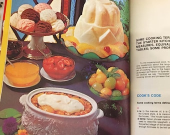 Family Circle Illustrated Library of Cooking  Volume 1  from 1972