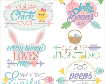 Easter Clipart Easter Titles -Personal and Limited Commercial Use- Spring Clipart, Easter Sayings Clip art