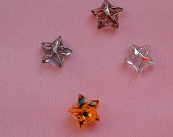 tiny button star 12mm