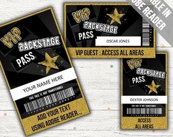 Vip pass Etsy