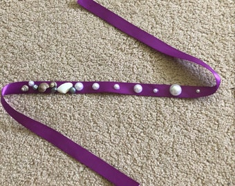 Purple Shell Headband