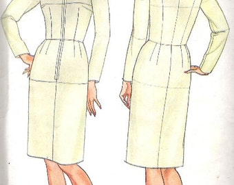 1980's Sewing Pattern - Butterick 3415 Fitting Shell large Size 18