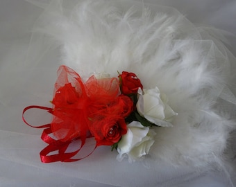 Variety bridal bouquet