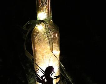 Fairy Light Bottle