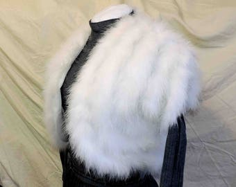 Vintage Feather Wrap Vest by Nina Martini Size Small