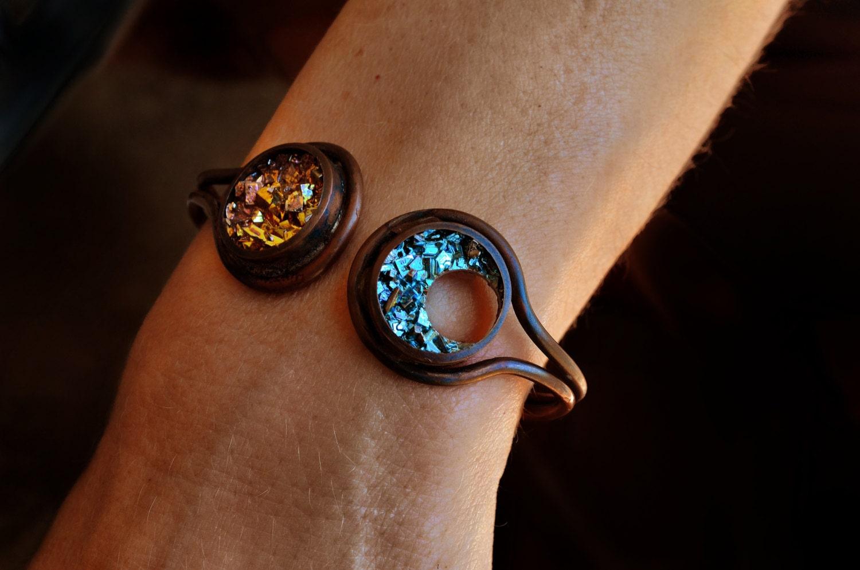 Bismuth Mens Ring