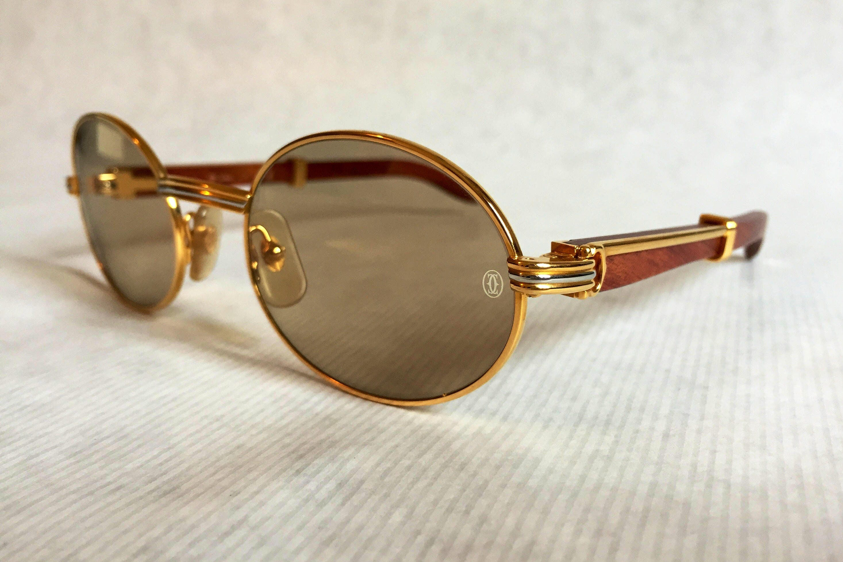 Cartier Giverny Vintage Sunglasses - Large Size - New Old Stock ...