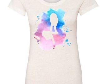 NEW Delta Gamma Hand Sign Triblend Short Sleeve T-Shirt