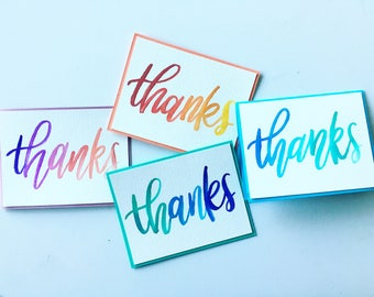 Pack of 5: Customizable Greeting Card (Thank You, Birthday, Congrats, Get Well, etc.)