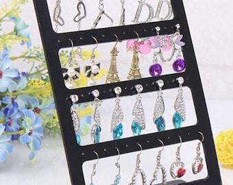 Earrings display for 24 pairs of earrings