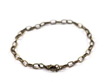 Set of 5 holders bracelets color bronze to customize