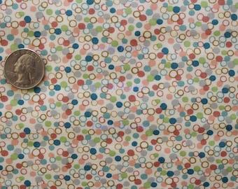 Kathy Hall, Ooh La La Dots Color T OOP Fabric - Half Yard
