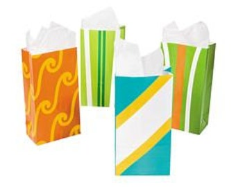 12/ My Surfing party Favor bags