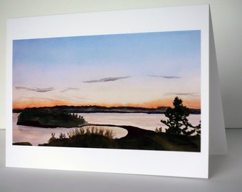 Polnell Point greeting card