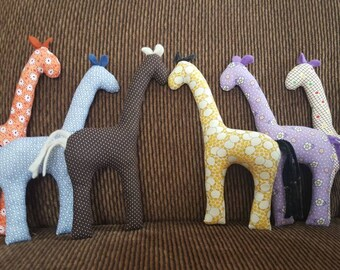Stuffed Giraffe Toy