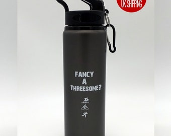Triathion Water Bottle - Fancy a Threesome?