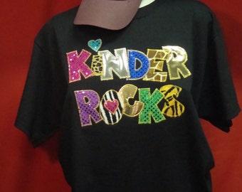 Kinder Rocks Shirt for teachers!