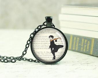 Harry Potter Necklace -  Harry Potter Charm -  Potterhead Jewelry - Fandom Necklace - JK Rowlings - Teen Necklace - Fandom Gift - (B1947)