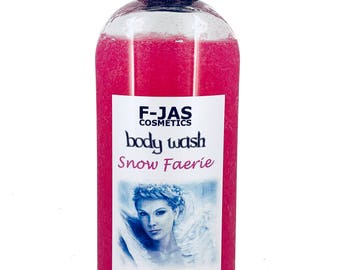 Snow Faerie Body Wash with Aloe and Sea Buckthorn 250ml
