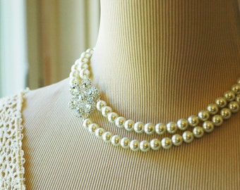 Set of 6 Lynne, Vintage Inspired Evening or Bridal Bridesmaid Jewelry for your Princess Royal Wedding
