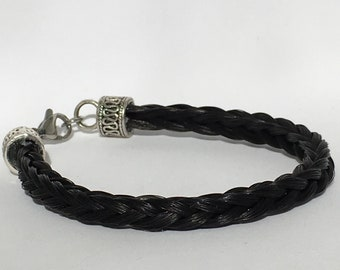 Horse hair, horse, horse hair, horse hair bracelet bracelet bracelet, memory horse, equestrian jewelry, braided bracelet, mens bracelet