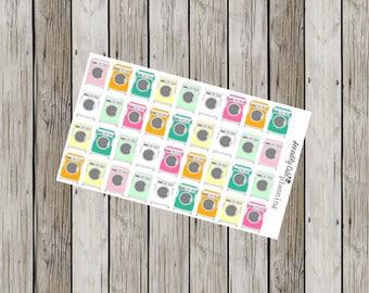 Washing Machine Planner Stickers
