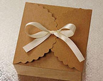 Kraft Wedding Favor Gift Box Party Favor Packaging