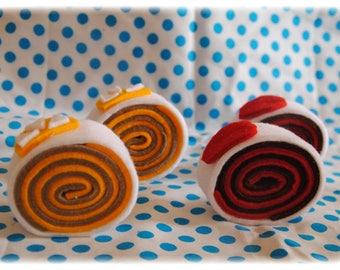 rolled felt washable cake