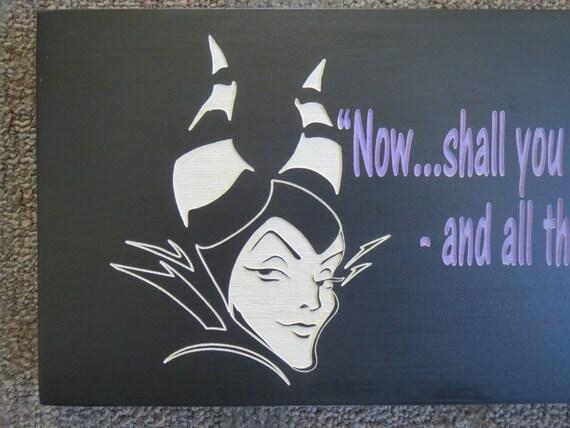 Maleficent Quotes Sleeping Beauty 16121 Disney Villains Sleeping